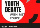 Police and Youth debate.