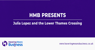 HMB presents Julia Lopez MP and the Lower Thames Crossing