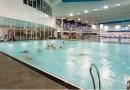 Free swims for school aged children returns for half term.