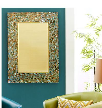 tropical mosaic mirrors - the hawaiian home