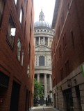 approaching St. Paul's