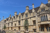 C.S. Lewis's college at Oxford