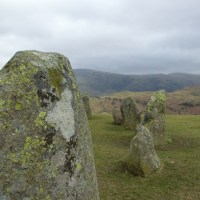 Castlerigg:  out on the wild and windy moors