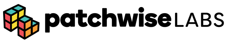This image has an empty alt attribute; its file name is Patchwise-Logo.png