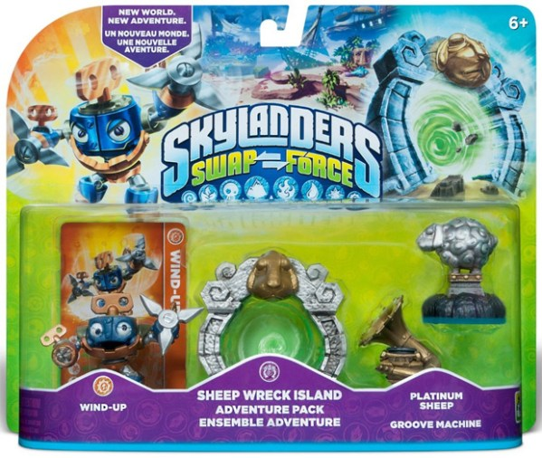 Skylanders Swap Force Sheep Wreck Island Adventure Pack ...