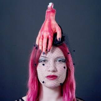 Halloween Zombie Hand Fascinator