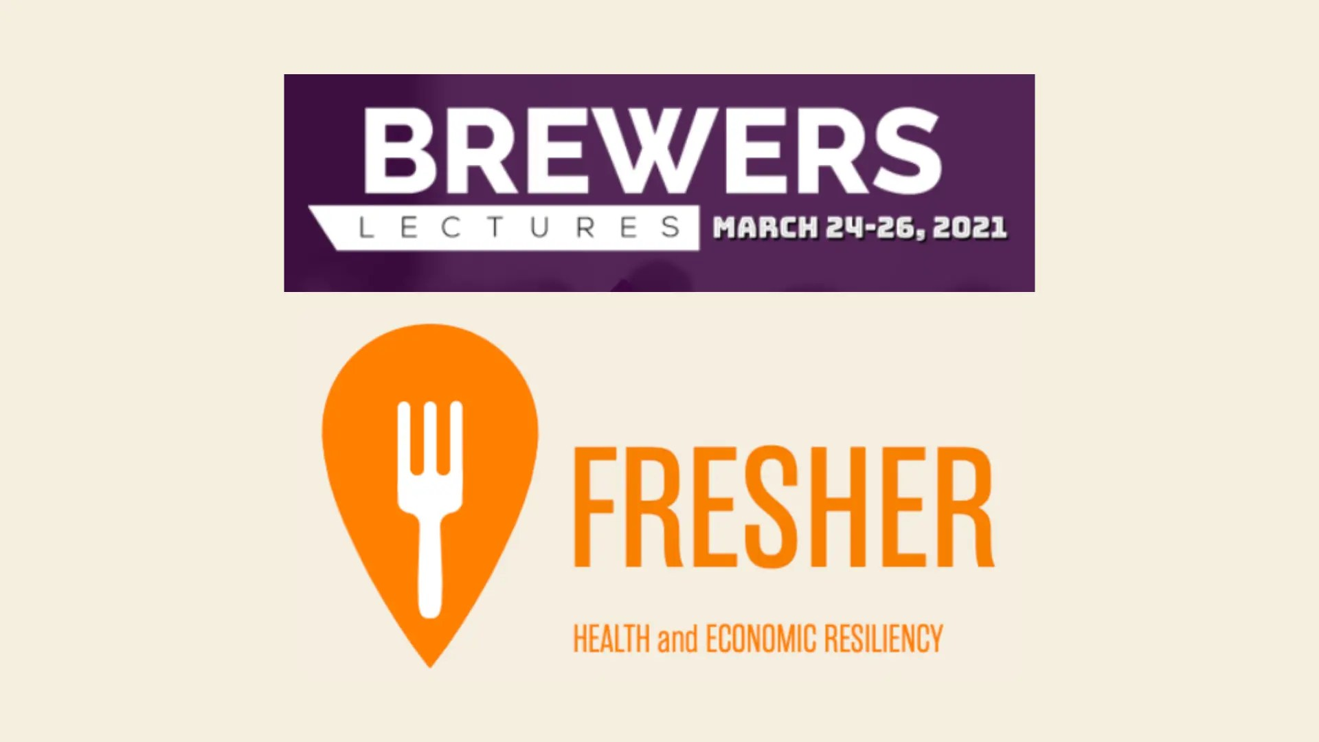 The FRESHER Team Presents at This Year's Bewers Lectures