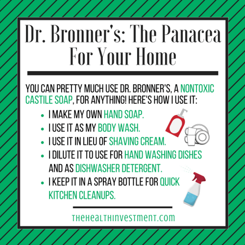 Dr. Bronner's Infographic