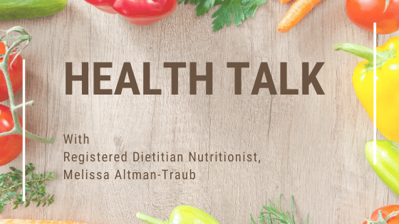 HEALTH TALK WITH A REGISTERED DIETITIAN NUTRITIONIST ON PLANT-BASED DIET