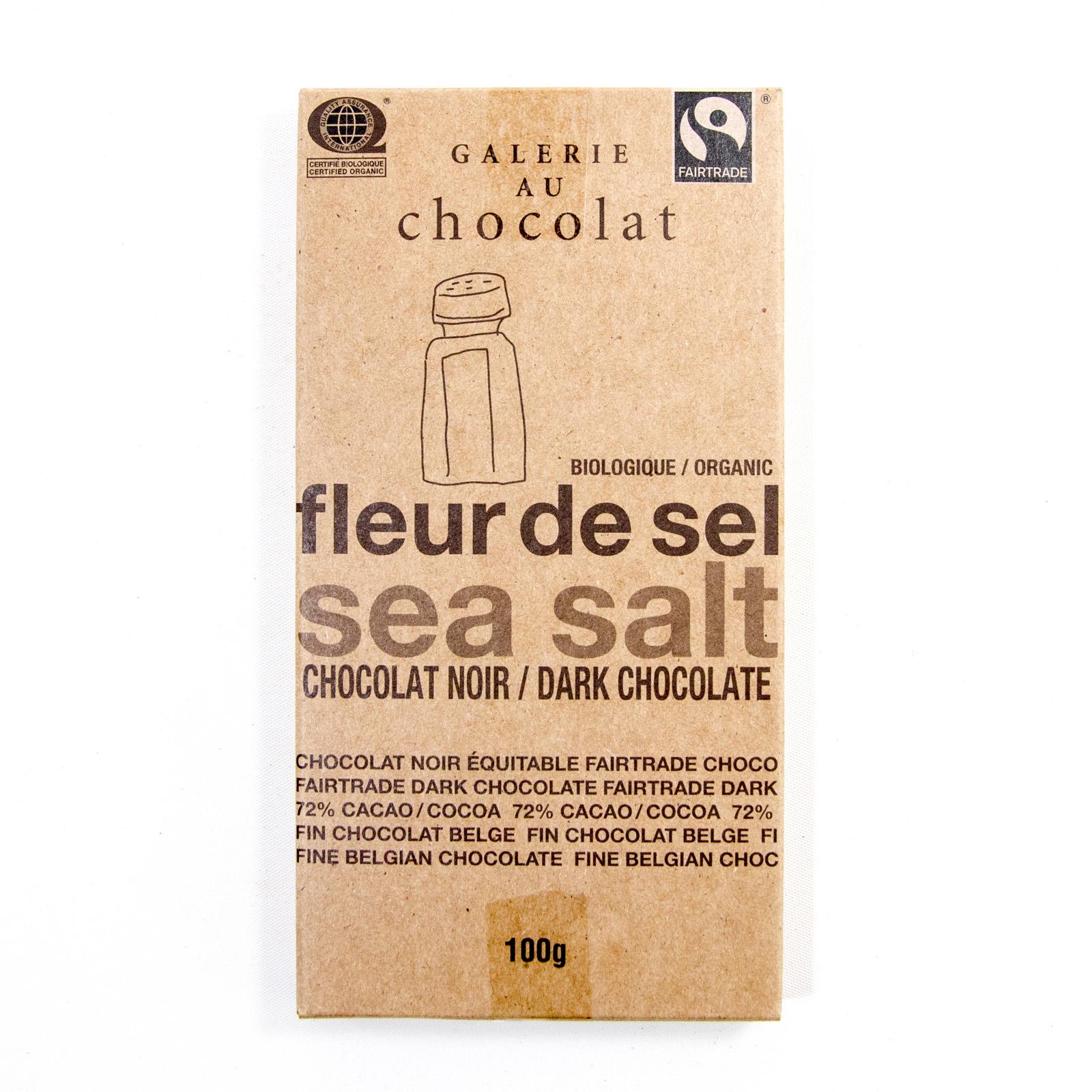 chocolate bar fleur de sel dark