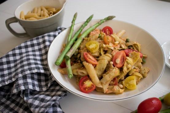 Cashew Pesto Pasta_3