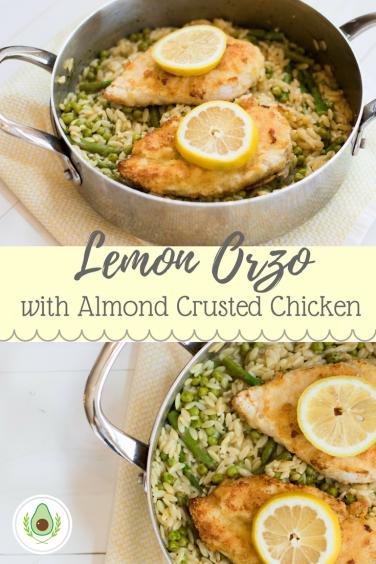 Lemon Orzo