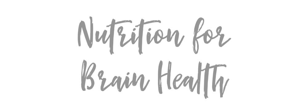 Brain Health copy