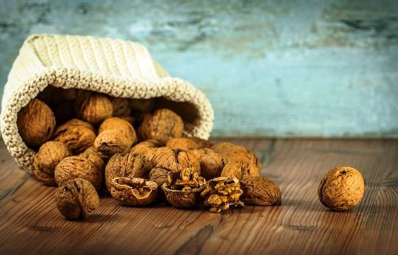 walnuts consumption