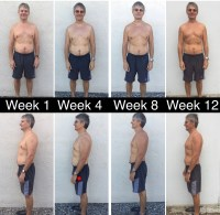 12 week weight loss