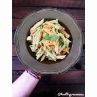 Creamy Cashew Spinach & Basil Pesto Sauce
