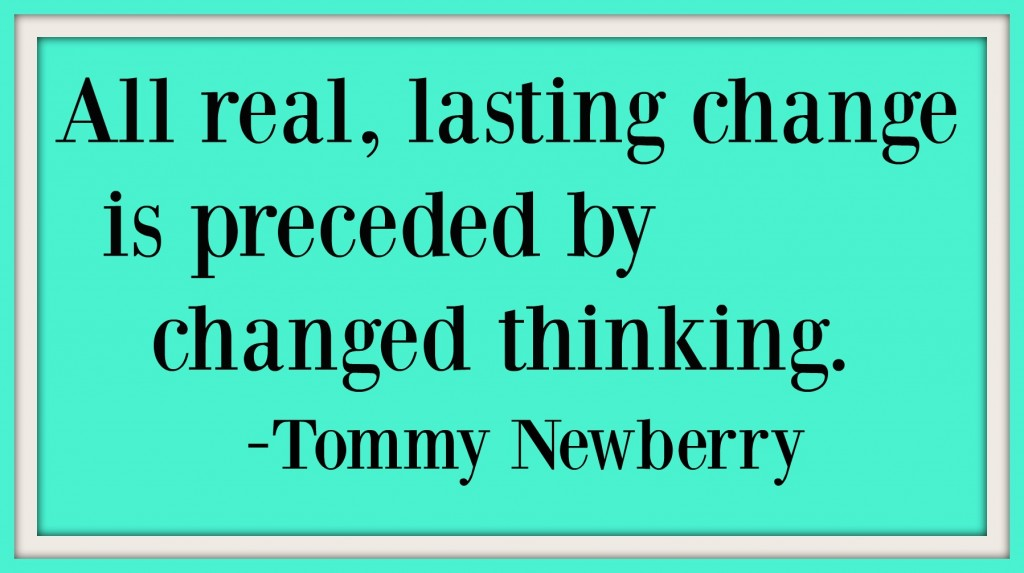 Changed Thinking