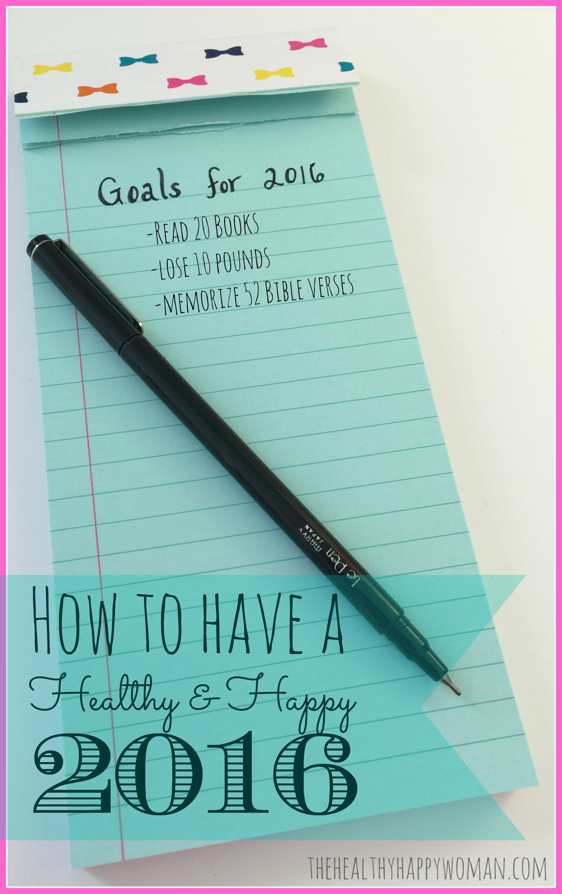 A Healthy and Happy 2016 (Pt. 1)