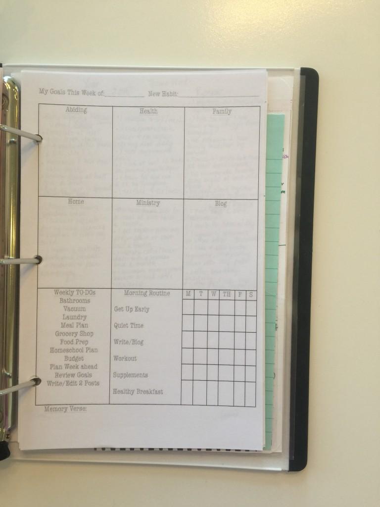 Prayer Notebook 16