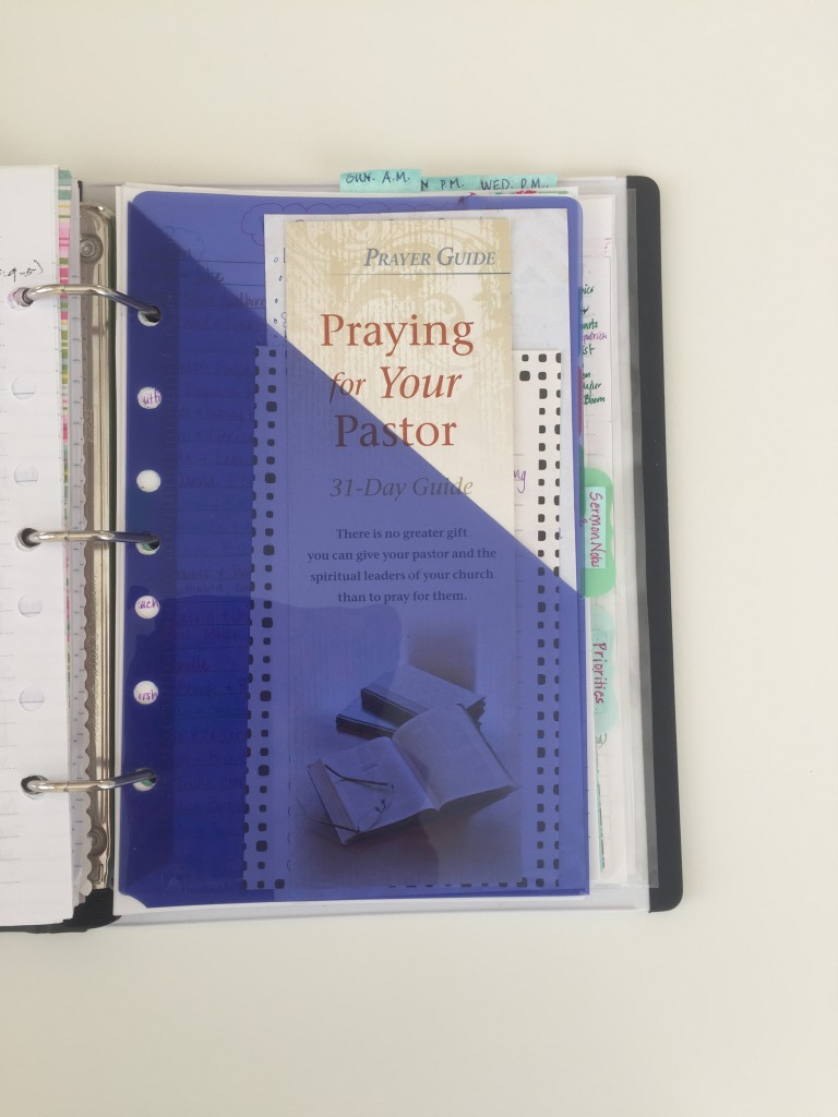 prayer notebook 42