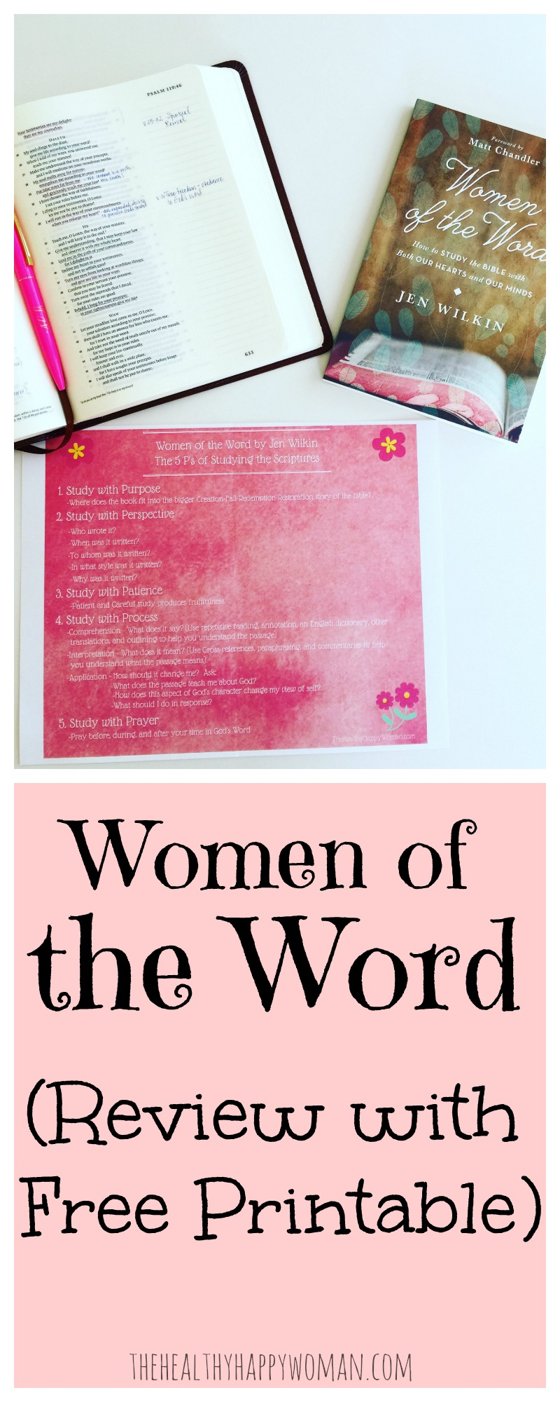 Women of the Word: Review & Printable