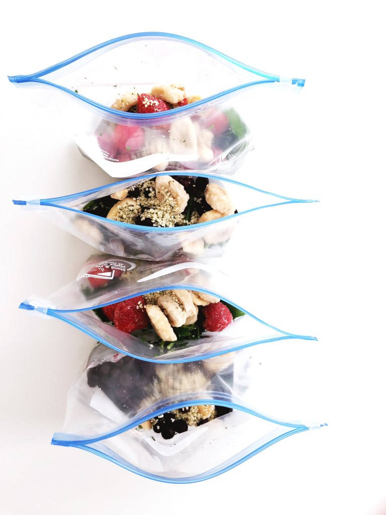 smoothie bags
