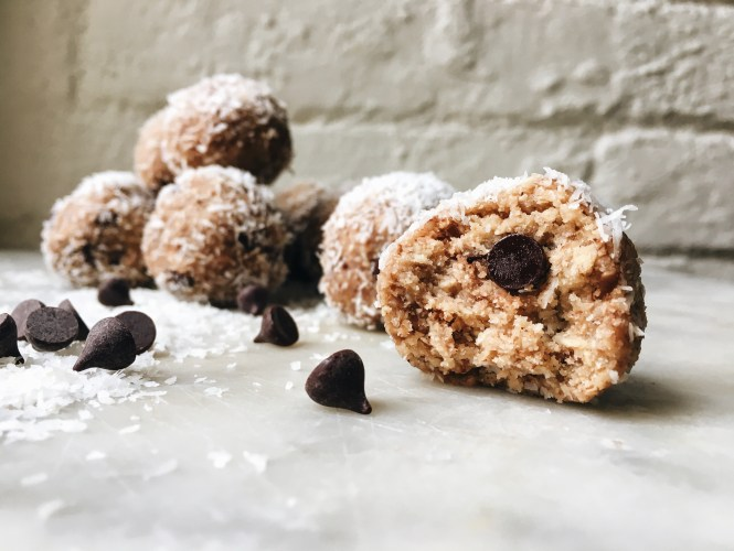 Cookie Dough Bliss Balls