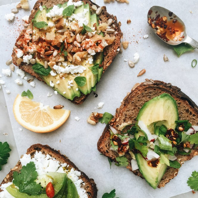 Reinvent your toast