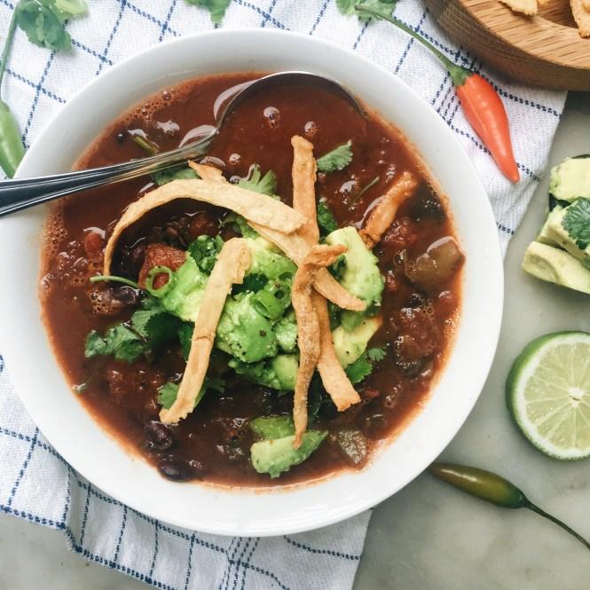 Mexican Tomato Soup 2