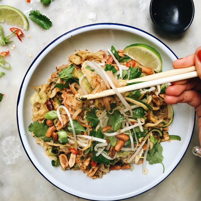 Vegetarian Pad Thai 3