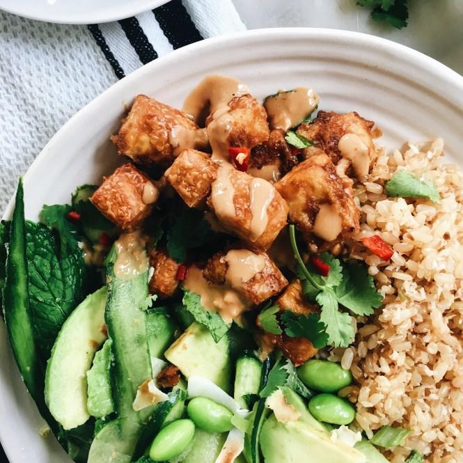 Crispy Satay Tofu 5