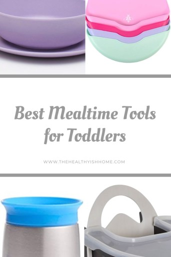 Teaching your child how to eat is such an amazing experience. They get to explore and experiment with this brand new part of life. I found some amazing products that helps make mealtime with a toddler easier! #toddlereating #hairchair #babydishes #toddlerdinnertime