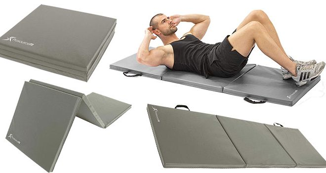 ProSource Fit Bi-Fold Folding Thick Exercise Mat Review