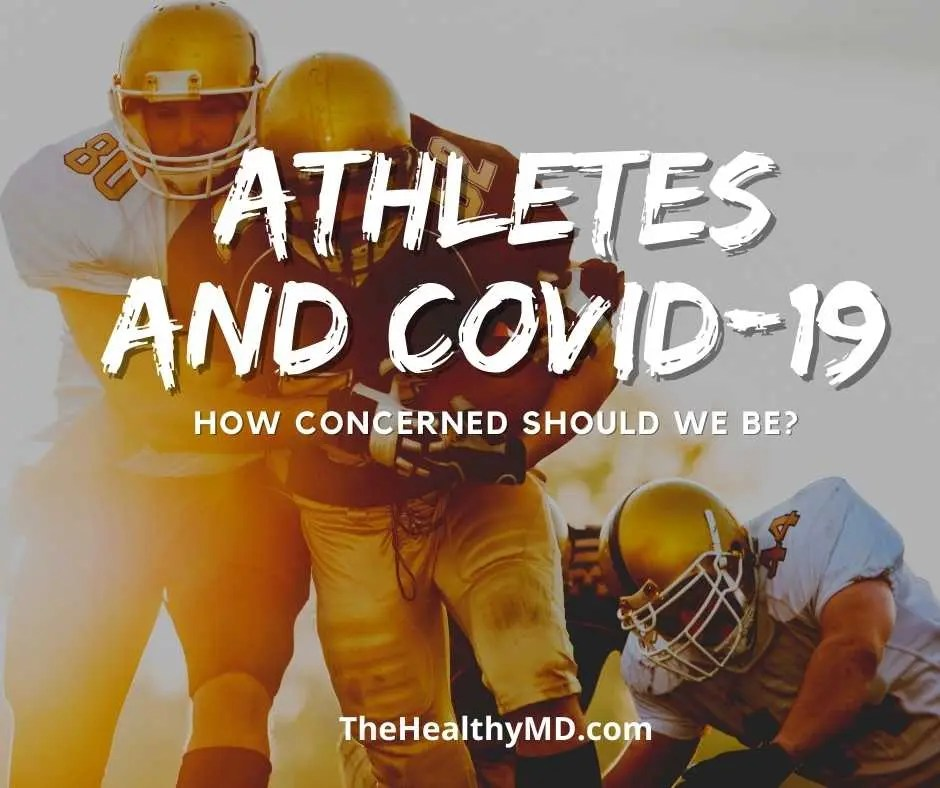 Athletes and COVID-19: How concerned do we need to be about cardiac issues post-COVID-19?