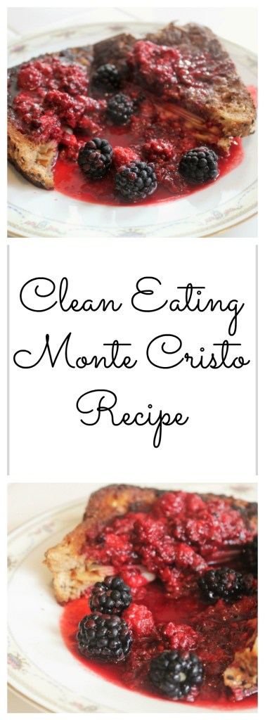 Clean Eating Monte Cristo Recipe - 21 Day Fix Approved, and vegetarian option included!