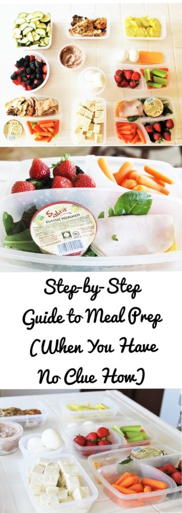 Step-By-Step Guide on how to meal prep, even when you have no clue how!