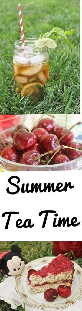Easy Sugar-Free, Wheat-Free lemon chia seed scones with cherry preserves