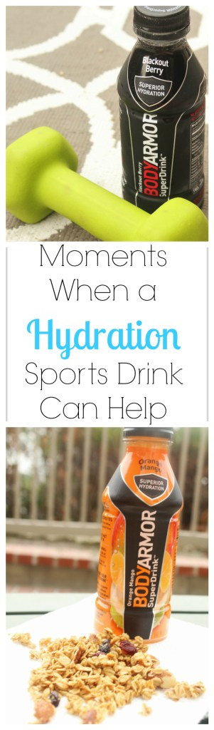 Moments When a Hydration Sports Drink Can Help