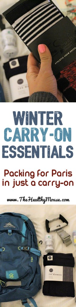 My international carry-on travel essentials: What to pack in your carry on when travelling in winter.