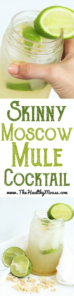 A skinny take on a Moscow Mule