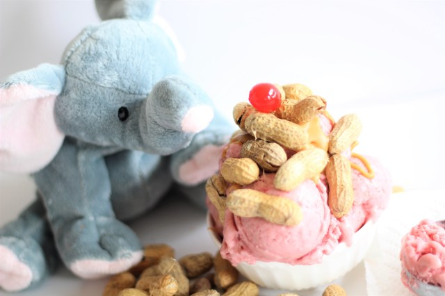 Jumbeaux Cafe's Zootopia Ice Cream Sundae