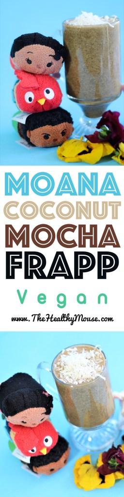 Moana Frapp - Vegan Disney - Disney Recipe - Moana Party- Moana Recipe