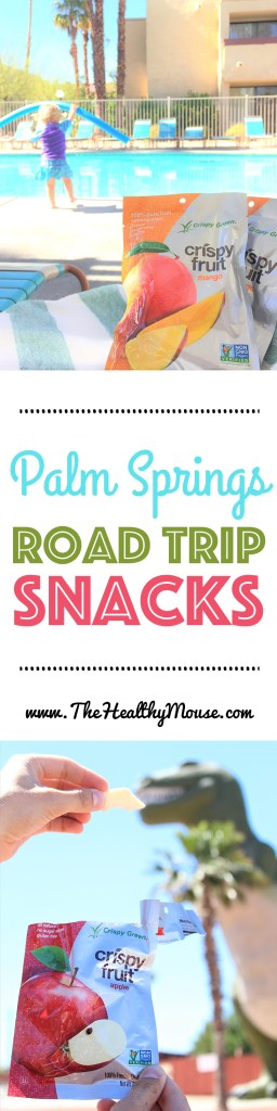 Palm Springs Road Trip Snacks - My favorite healthy snacks to bring on a road trip