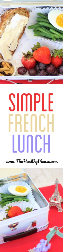 Power Your Lunchbox with this simple French lunchbox! Sponsored by Produce For Kids