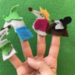 A Goofy Movie Possum Park inspired finger puppets!