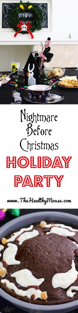 A Nightmare Before Christmas Christmas Party! Find decor and food inspiration for a holiday Nightmare Before Christmas party!