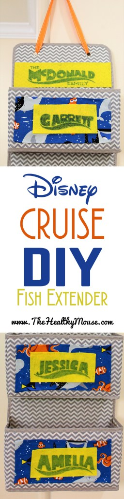 Disney Cruise Fish Extender DIY - perfect for your first Disney Cruise!