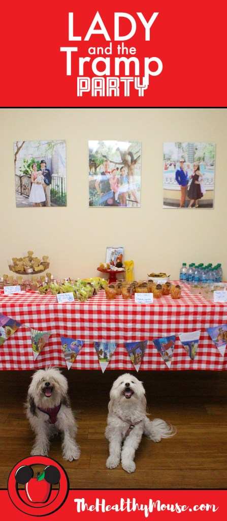 A Lady and the Tramp party - Lady and the Tramp party ideas, Lady and the Tramp recipe ideas and more