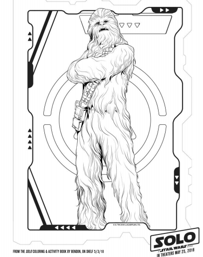Solo A Star Wars Story Star Wars Coloring Pages 9 The Healthy Mouse