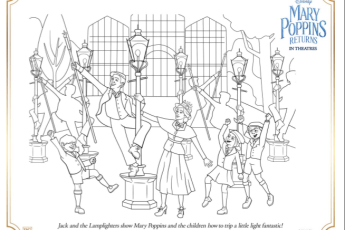 mary poppins returns coloring book Archives - The Healthy Mouse